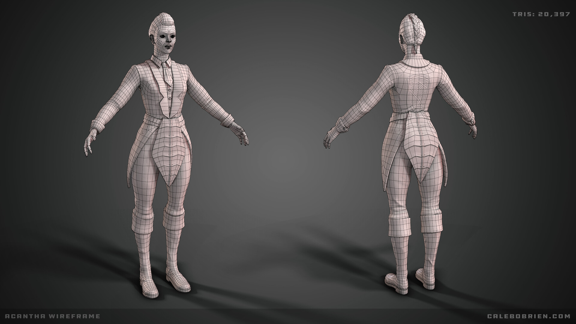 Caleb o brien villain wireframe
