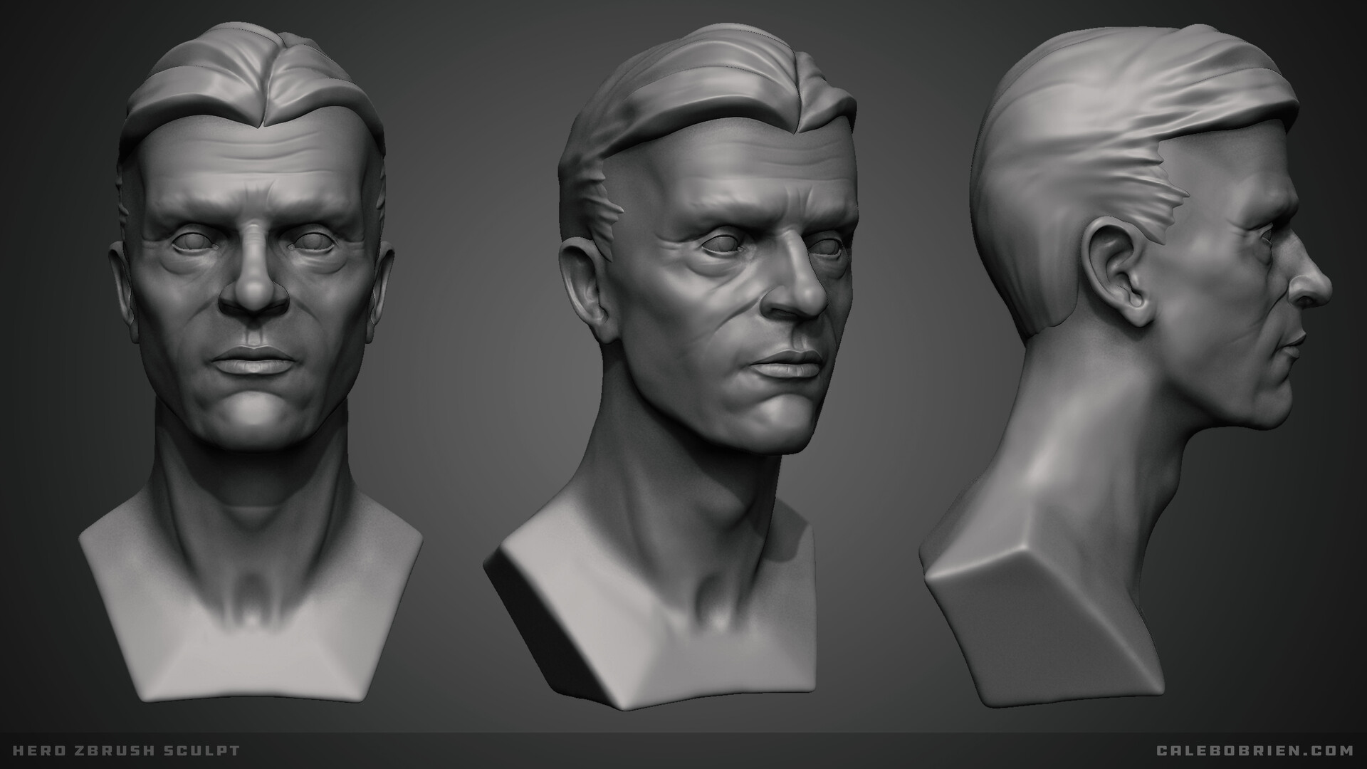 Caleb o brien hero hex sculpt