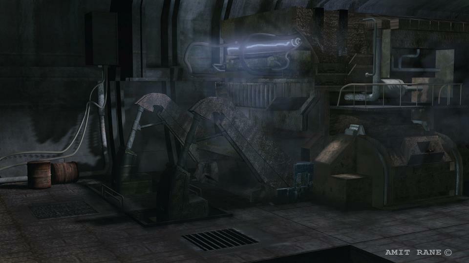 ArtStation - Machinery Gaming BG with 3Ds Max & Photoshop , Amit Rane