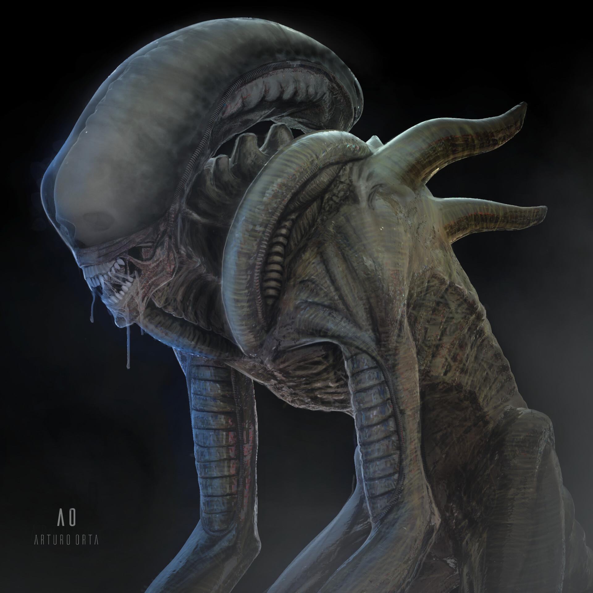 Arturo Orta - Xenomorphs!
