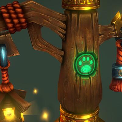 Bruno fortuna parrela pandaren lantern