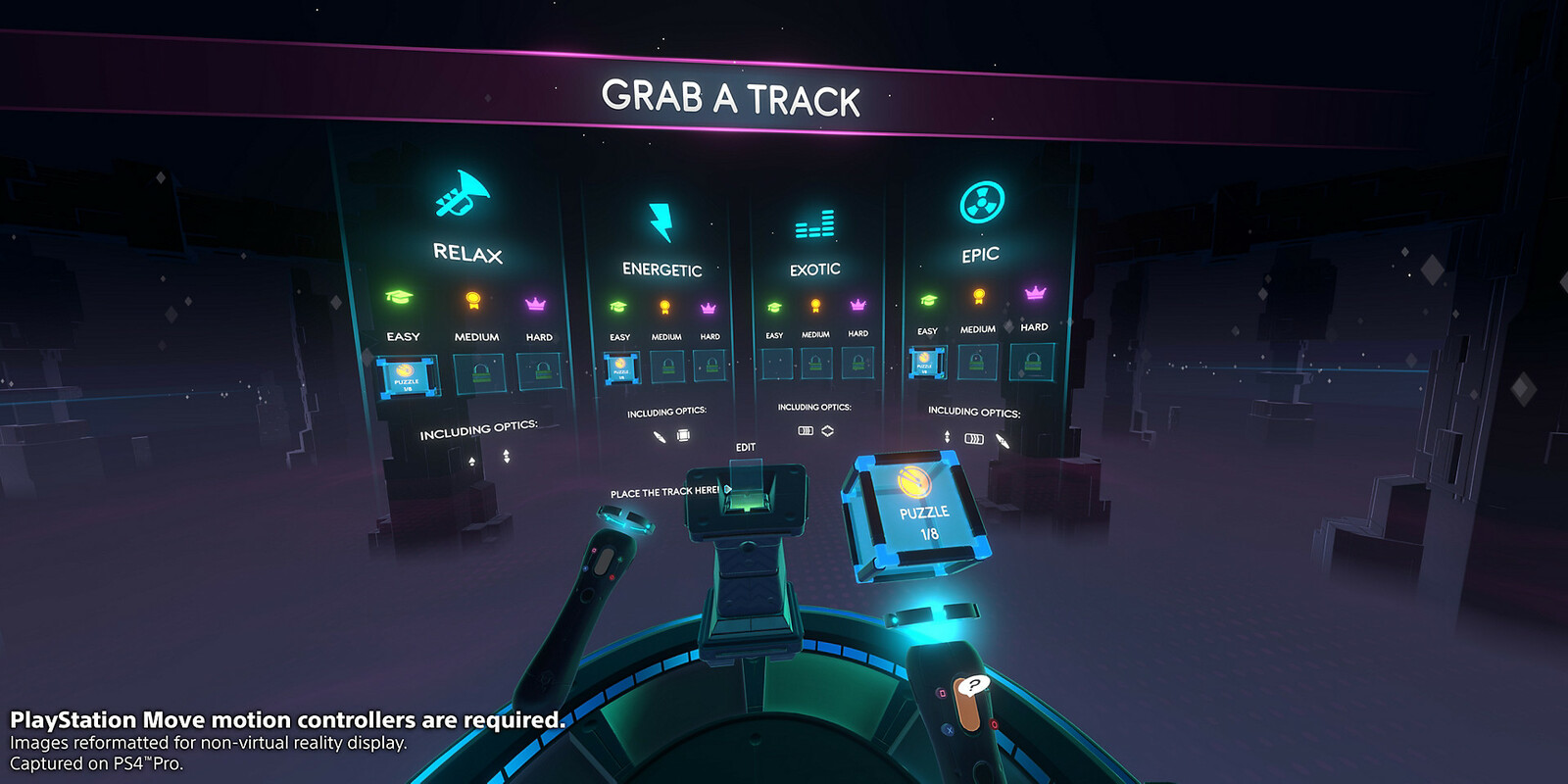 User interface elements in VR
