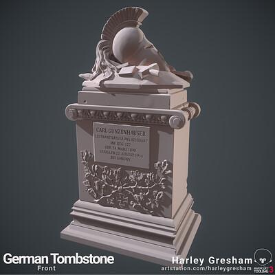 Harley gresham 203209 tombstone 1front