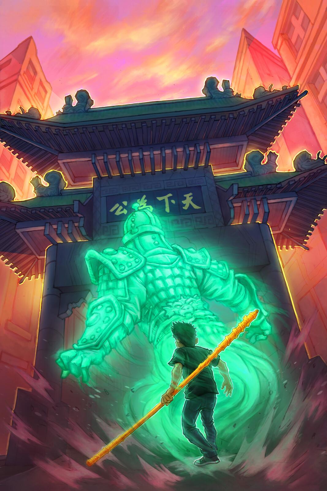 Jamie Wang and the Qi Magician