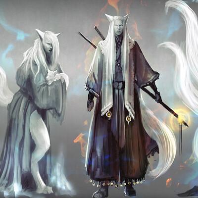 Lorenn tyr kitsunes concept