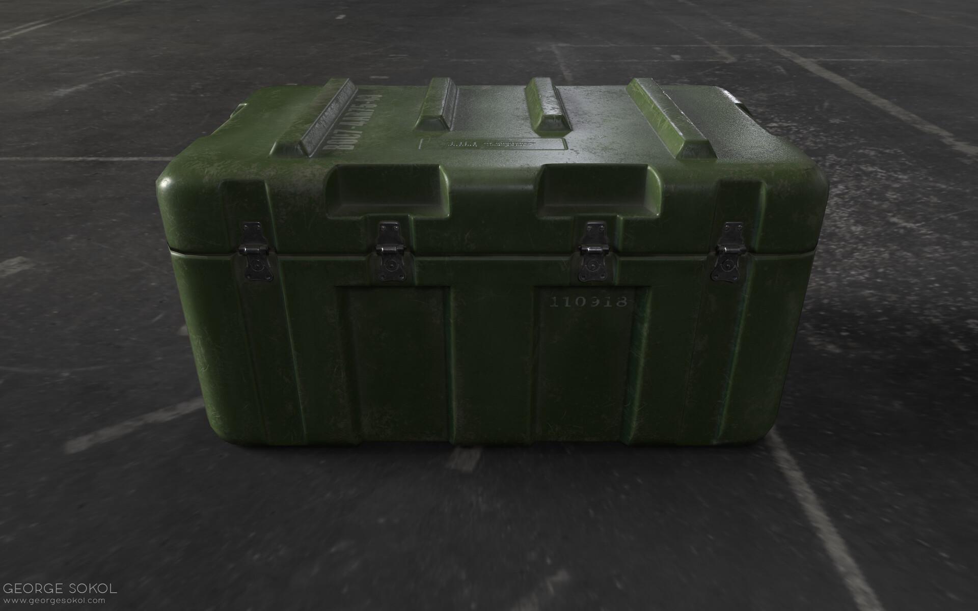 George sokol gs crate 1