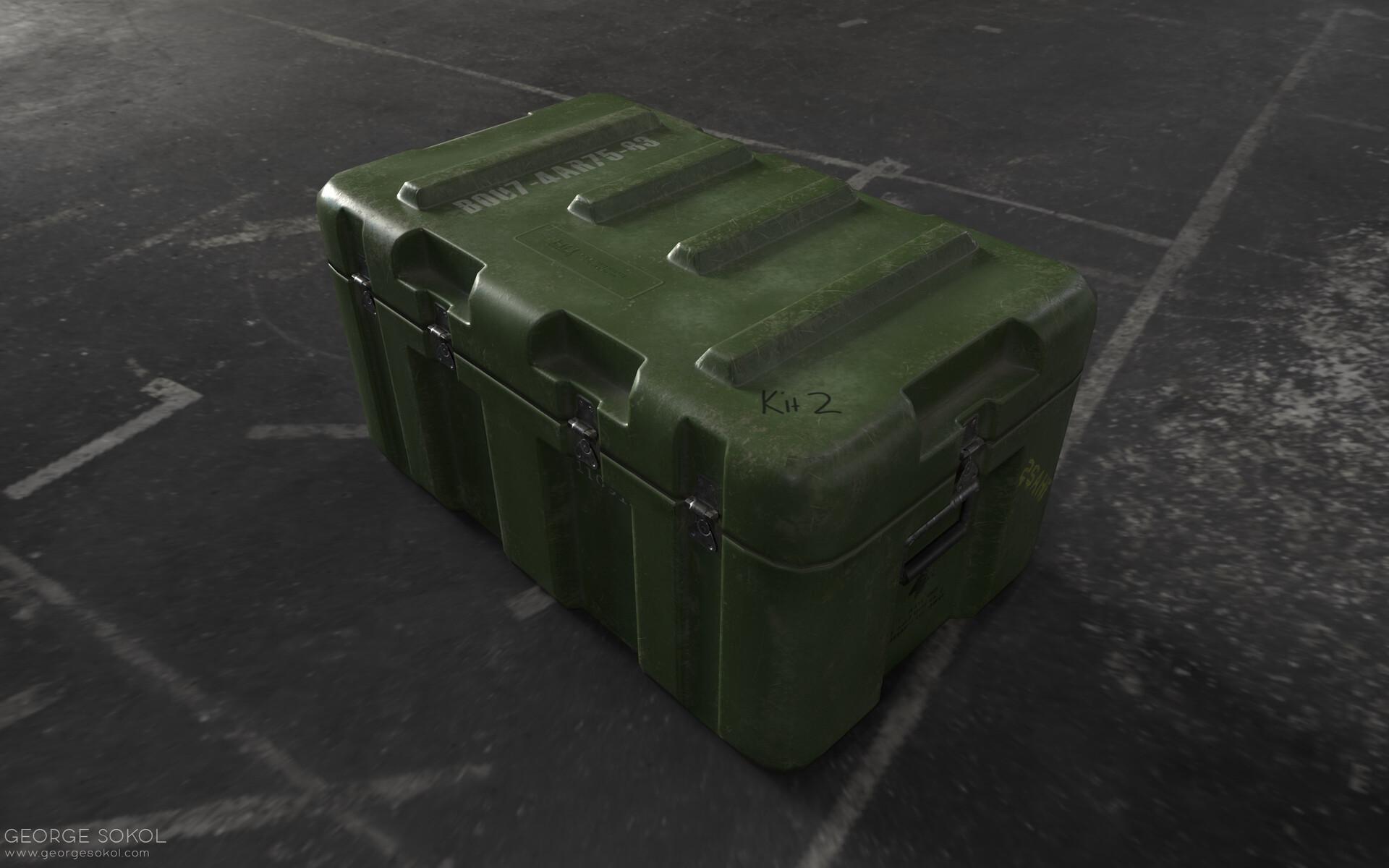 George sokol gs crate 2