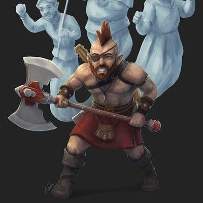 Adela quiles barbarian halfling prev