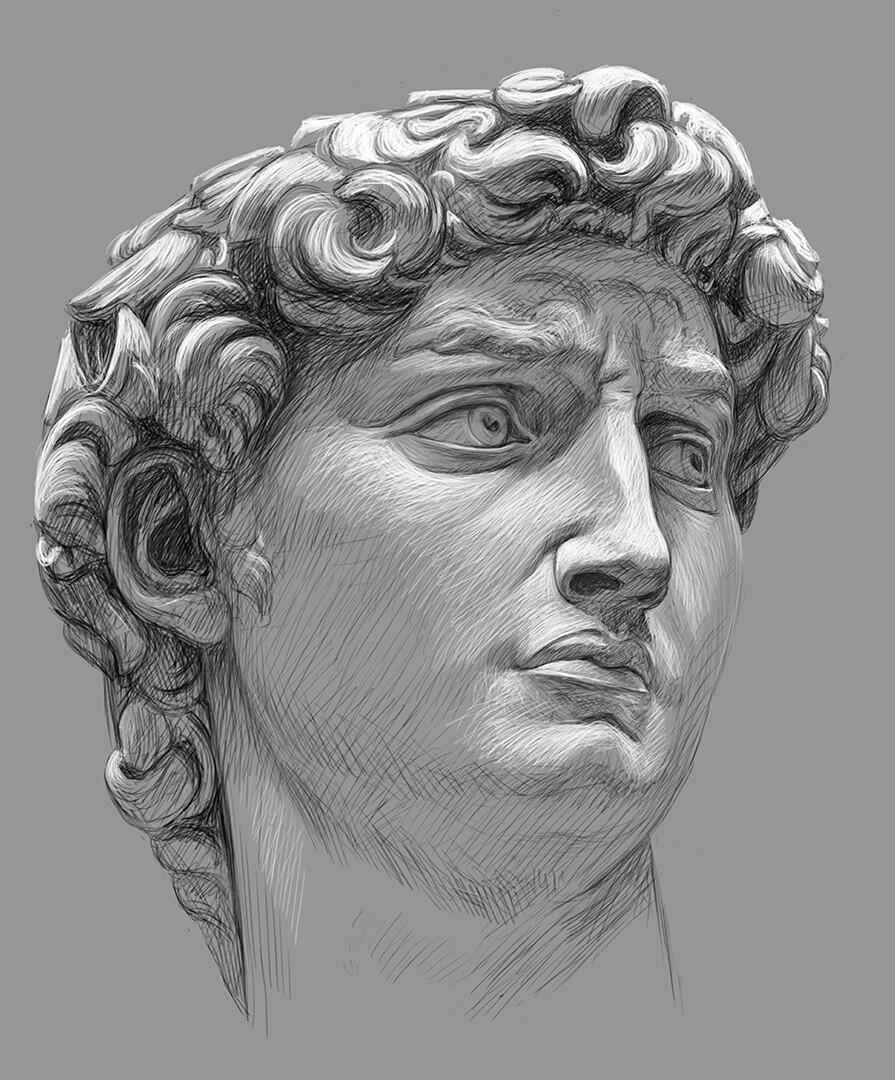 картинки головы скульптуры говорится
