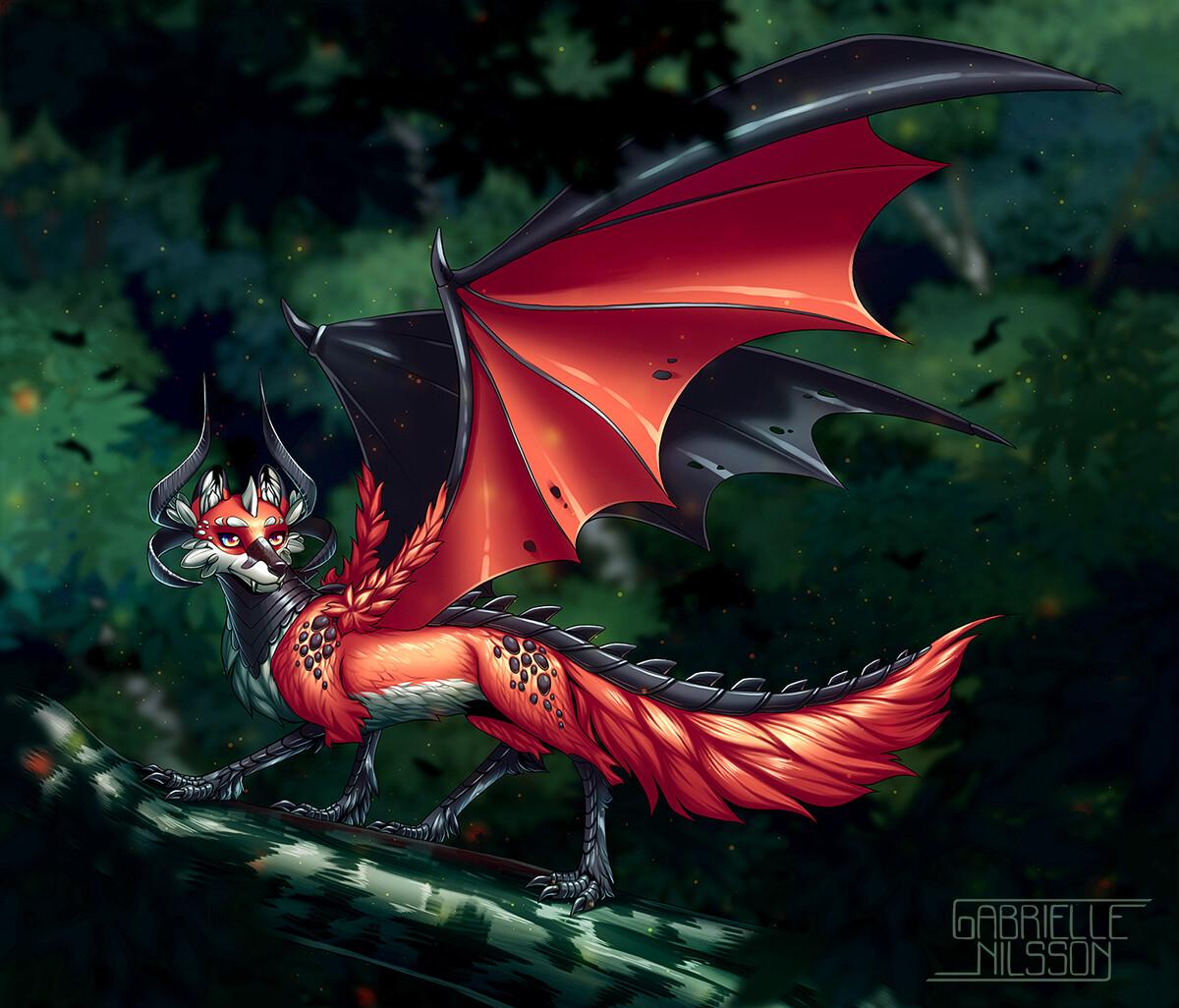 Gabrielle nilsson fox dragon3