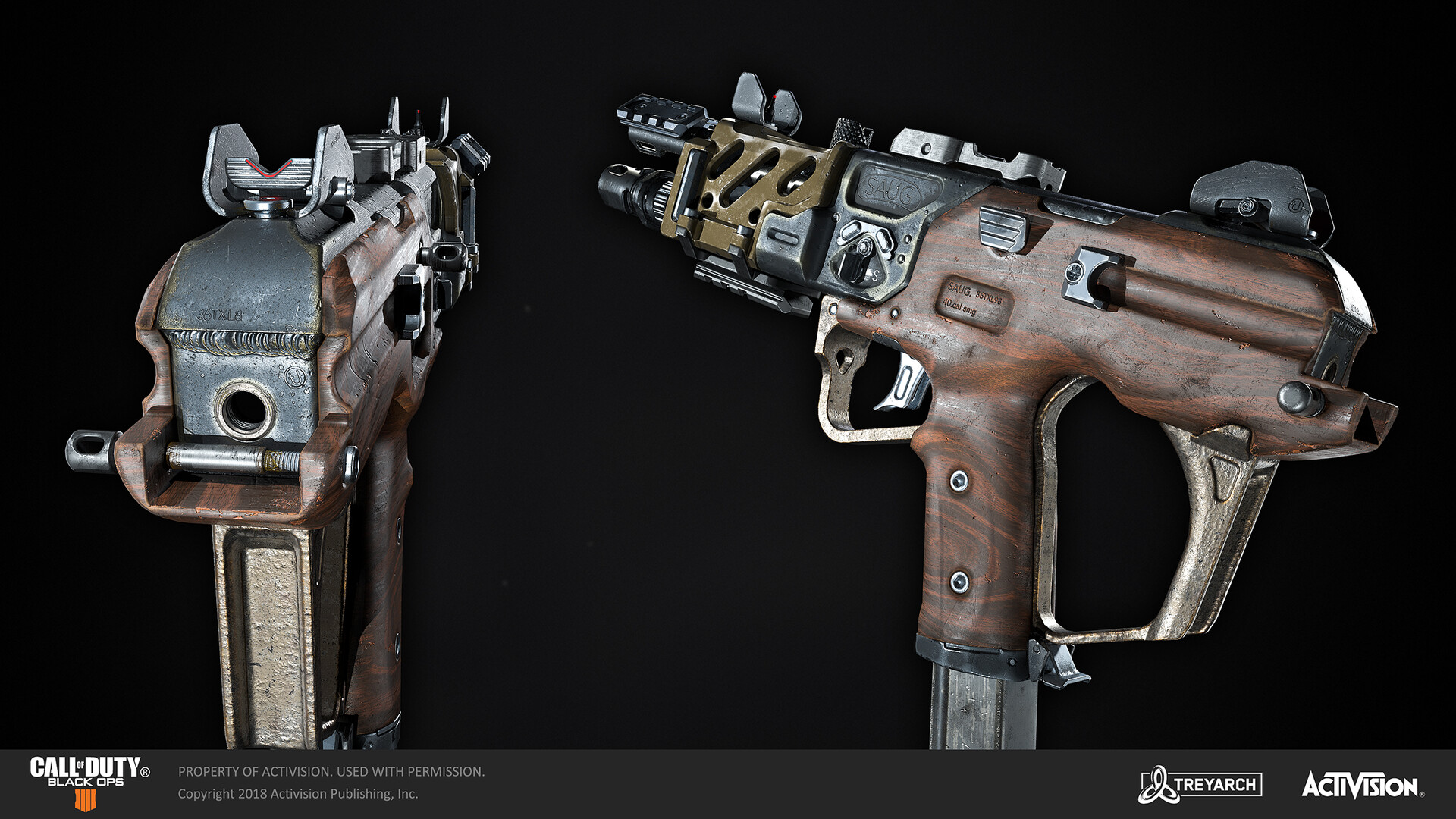 ArtStation - Call of Duty: Black Ops 4 SAUG , Bruce Bailey