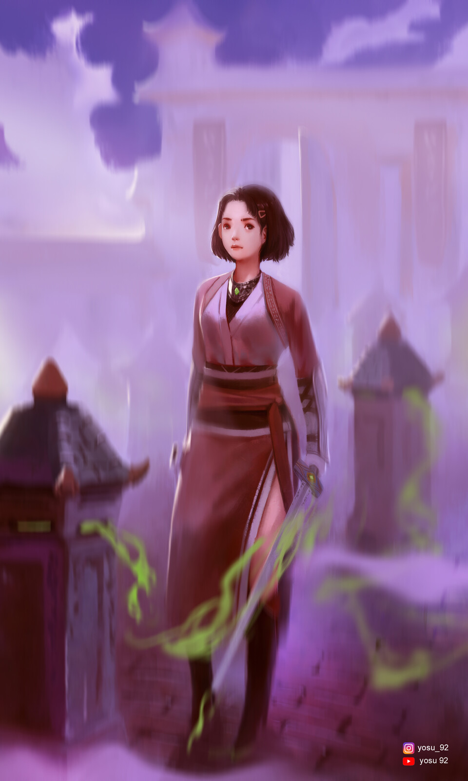 Wuxia Character Illustration