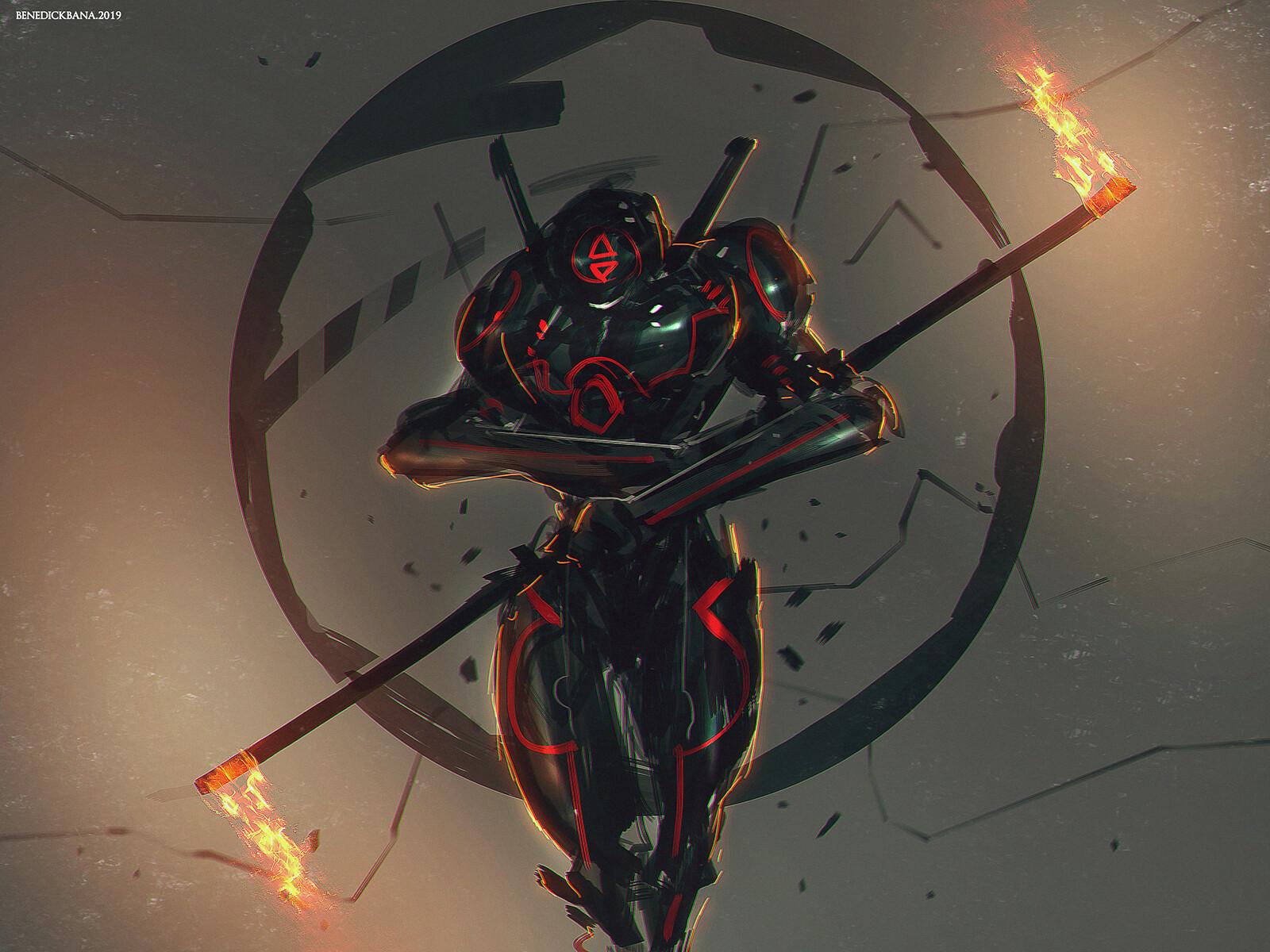 Darkfall - Burnt concept art. character design. Fire Manipulator