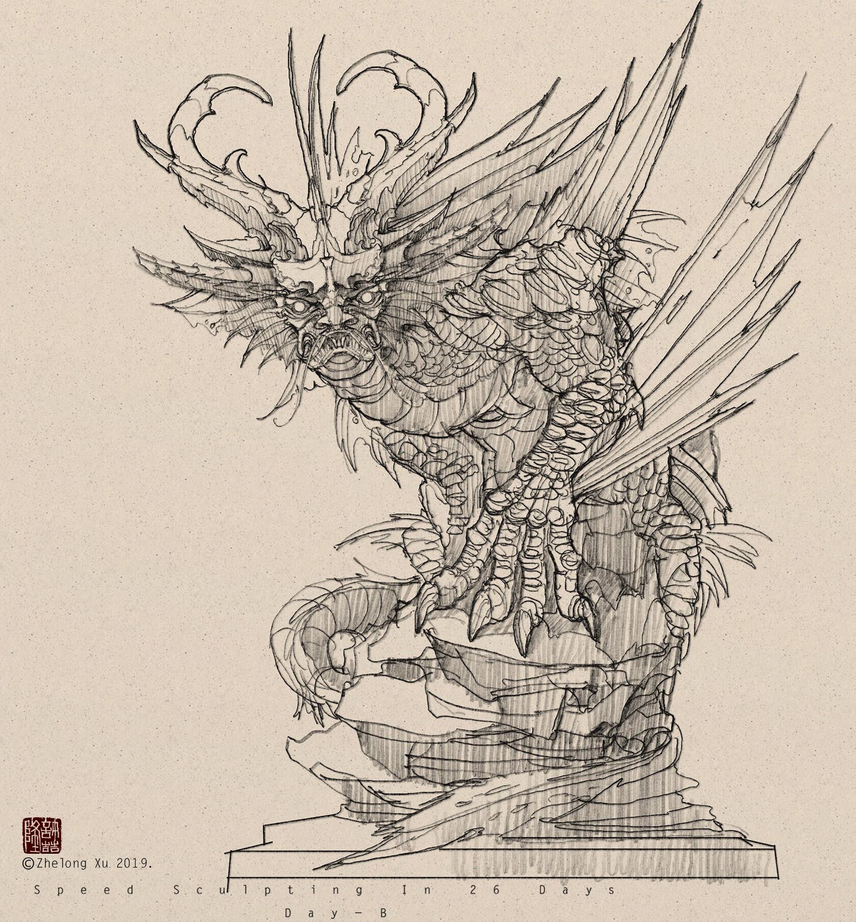 Zhelong xu sketch01