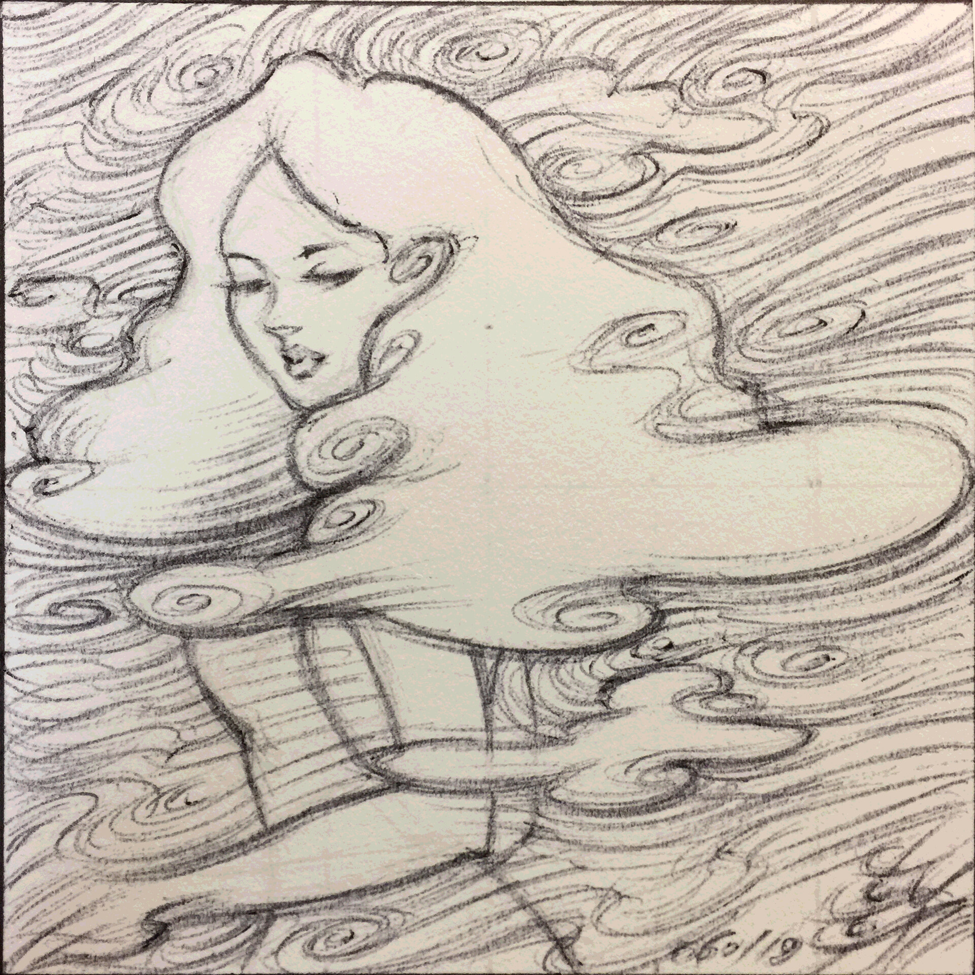 Cloudy Thoughts - Sketch