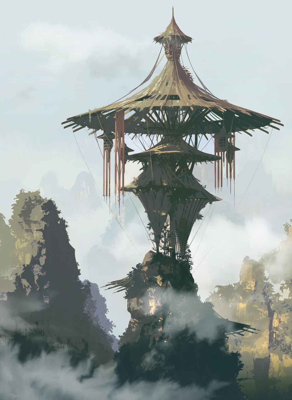 Min seub jung umbrella house