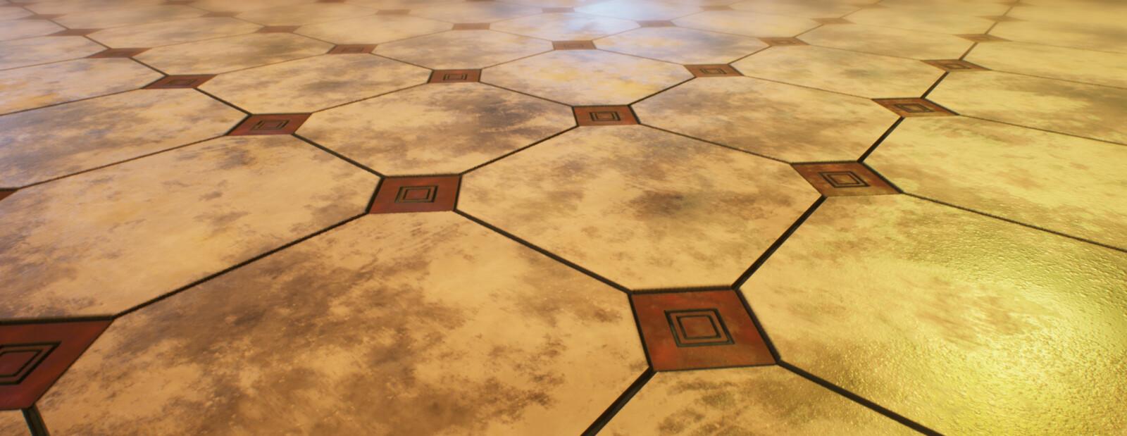 Floor Render in Unreal Engine 4