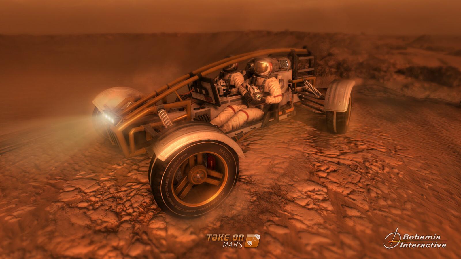 Take on Mars assets