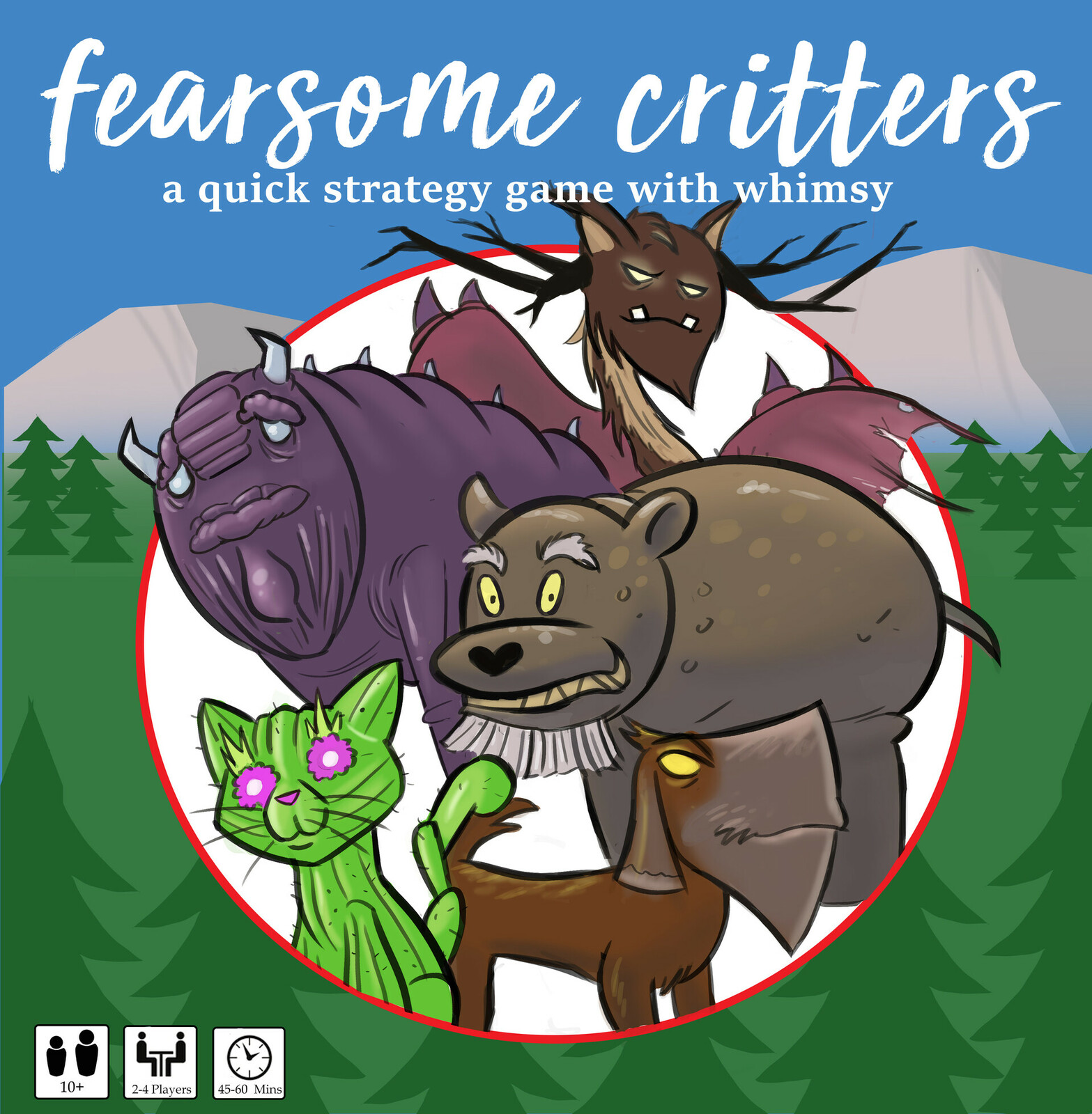 """Box art for """"Fearsome Critters"""""""