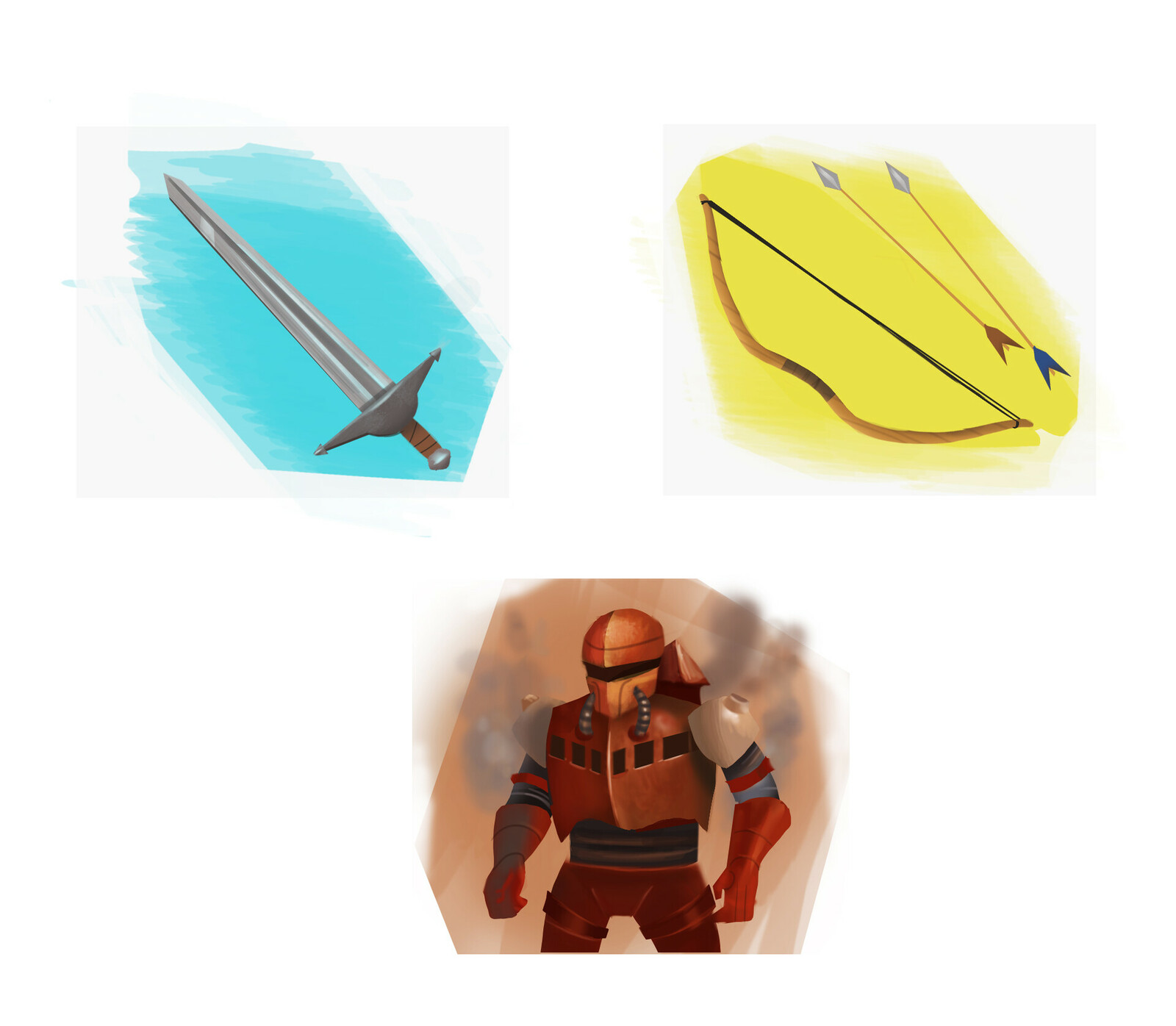 Unused weapon assets