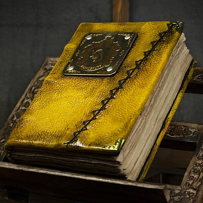 Peter burroughs tome hufflepuff front