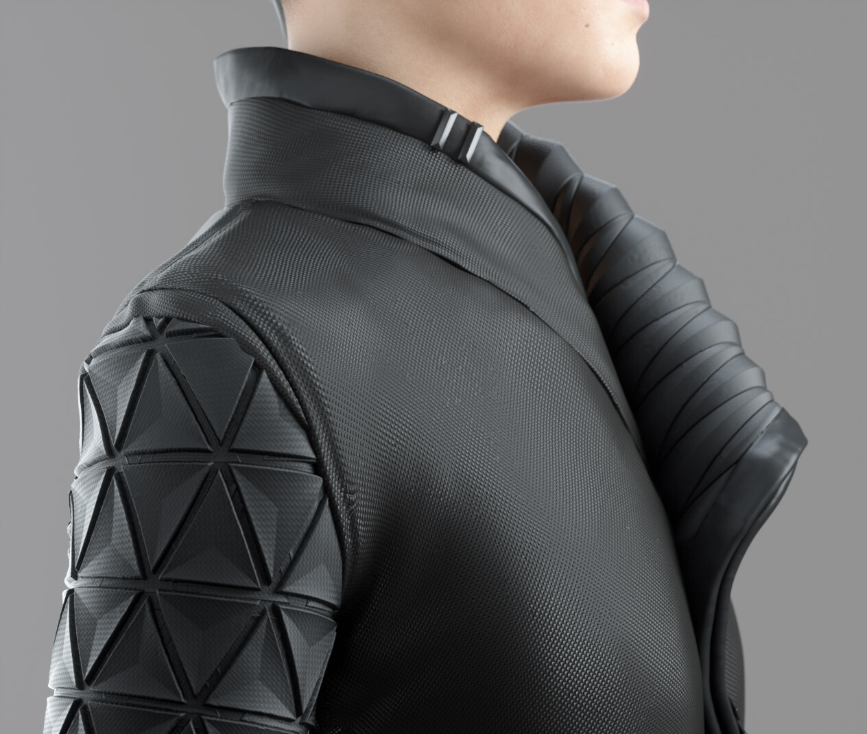 Micro details, geosphere normal pattern scaled down to create micro fabric detail