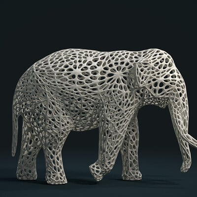 Alexander volynov mesh elephant c 01