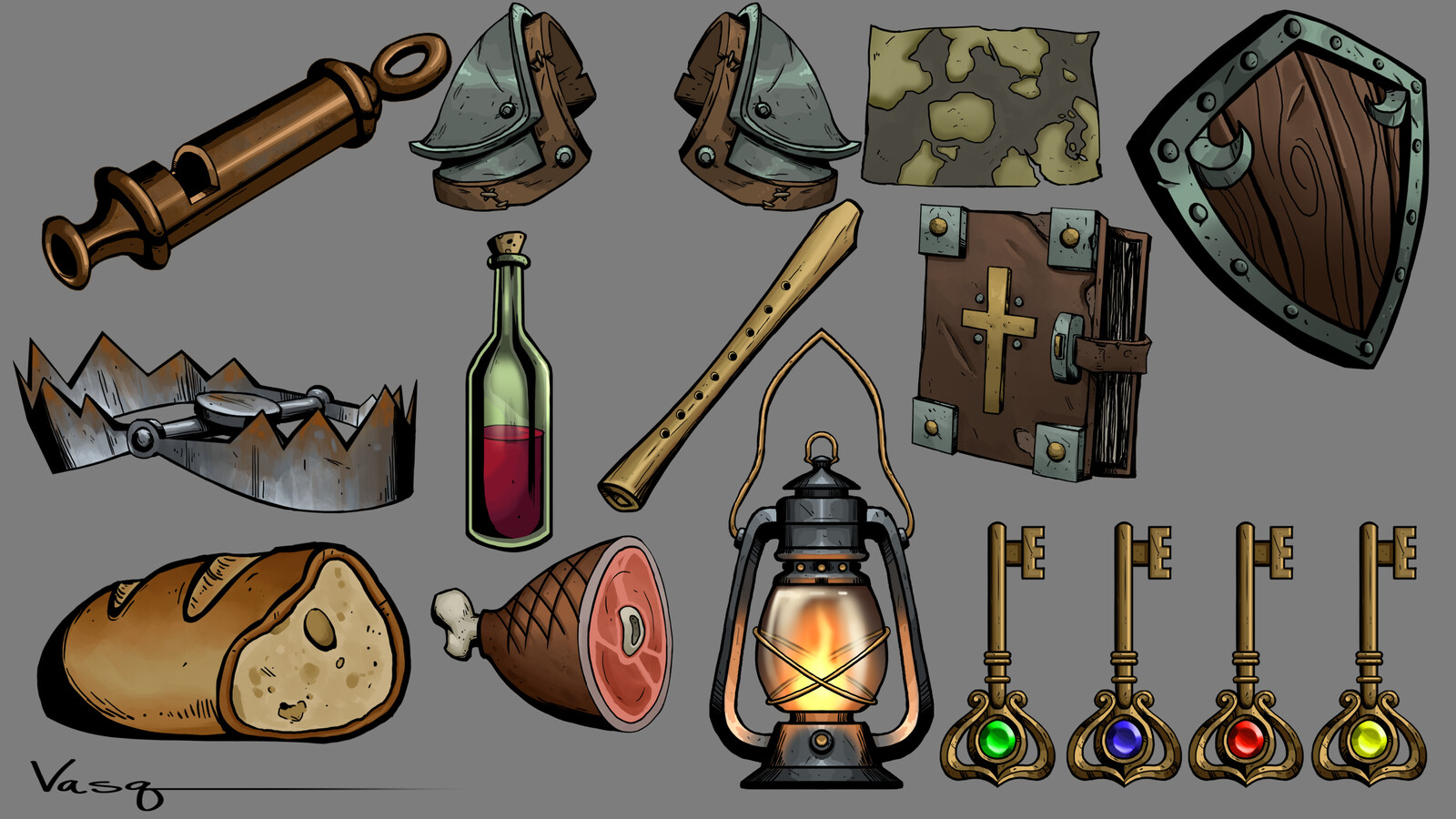 Board Game Props