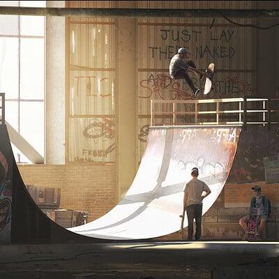Evgeny kashin skatepark 1080