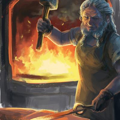 Adela quiles blacksmith2