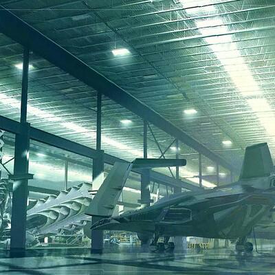 Sean hargreaves hangar rend 1a time machine