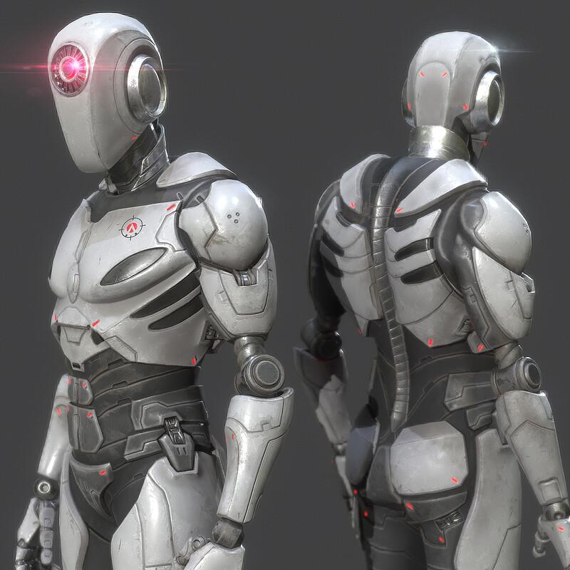 AIMLAB - ROBOT CHARACTER