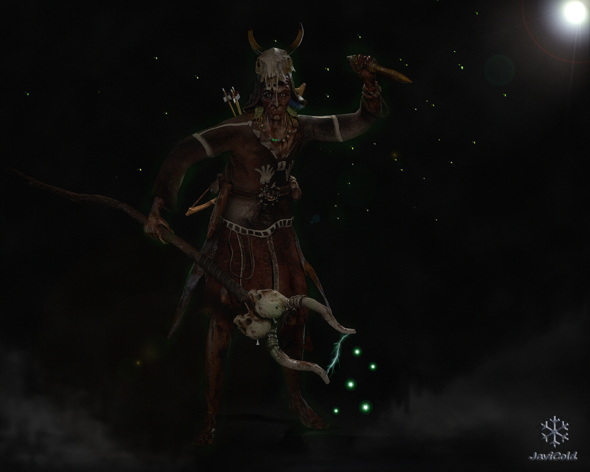 ArtStation - Mystic Shaman, JaviCold95 Muñoz