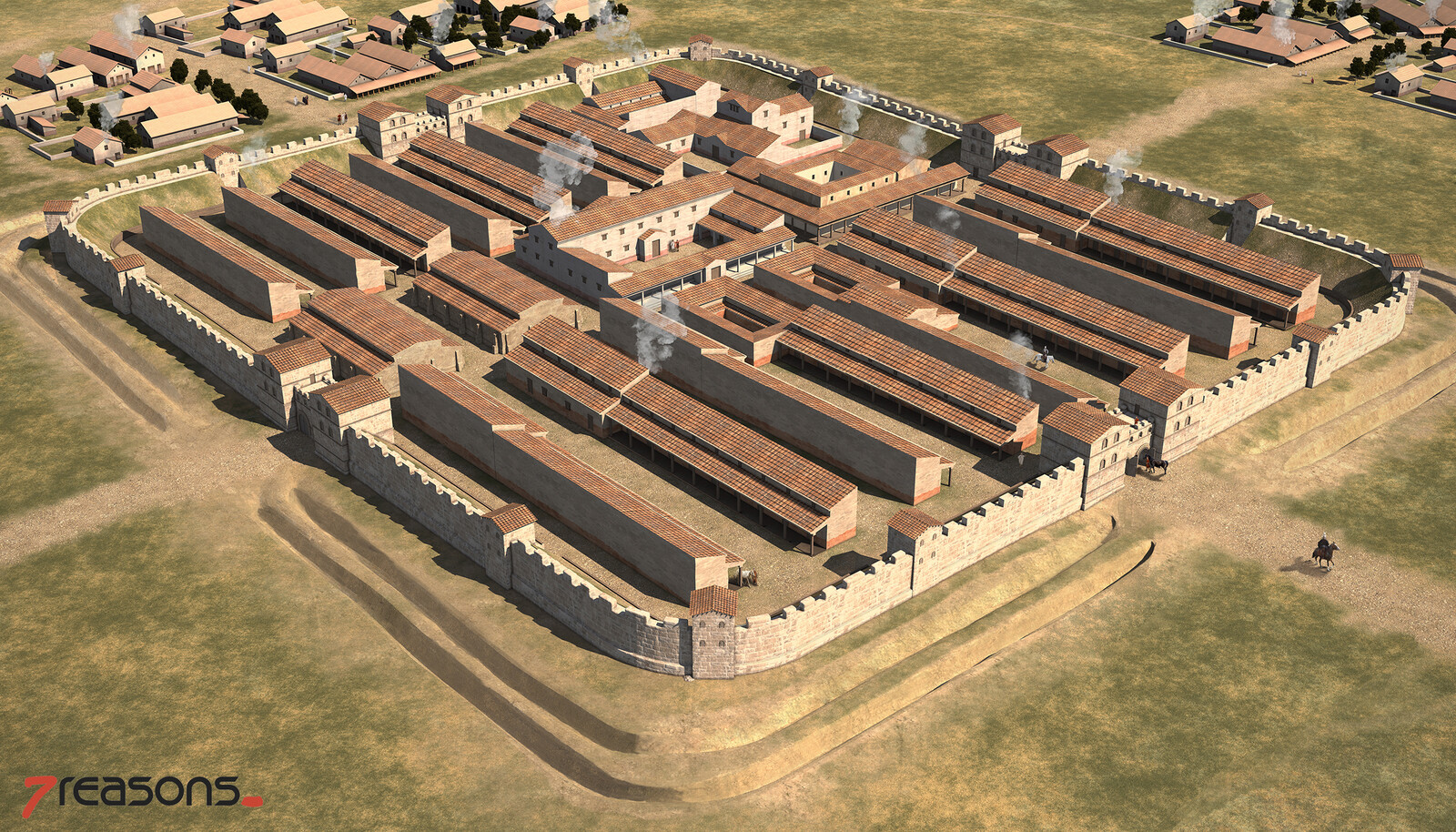 Roman Auxiliary Fortress