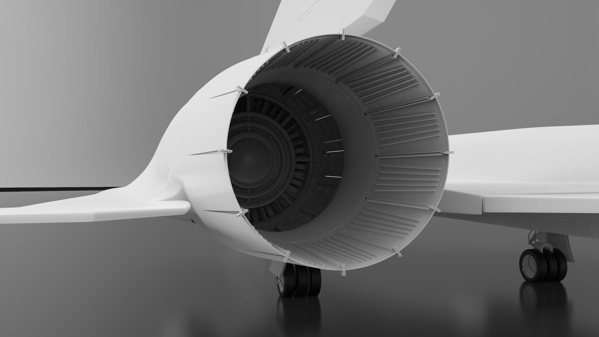 Jakub Mirola - Portfolio - SR-71 Blackbird model