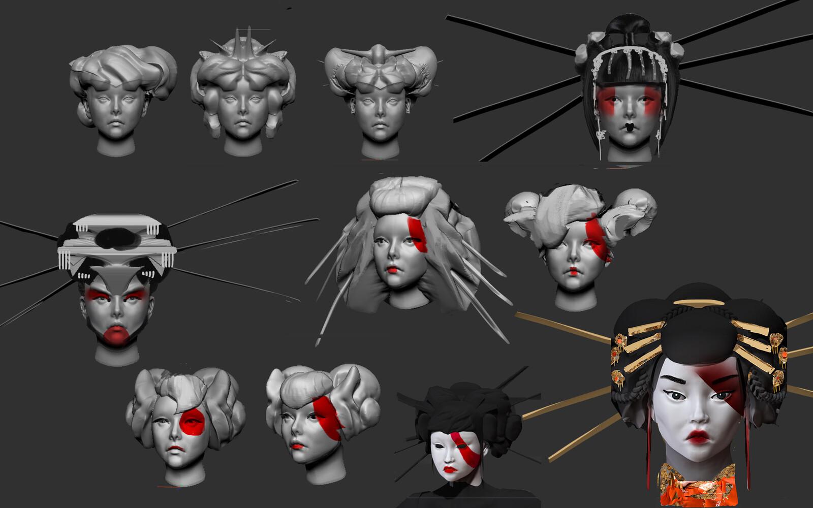 Head variations