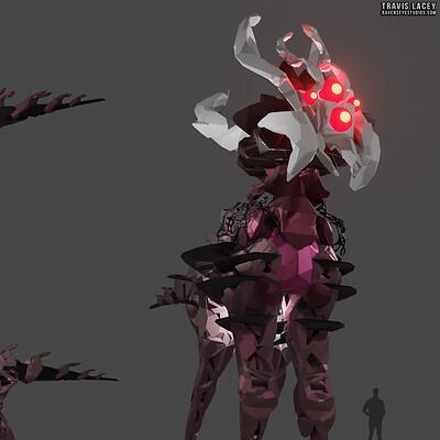 Travis lacey creature zero bygen 3d concept travis lacey web