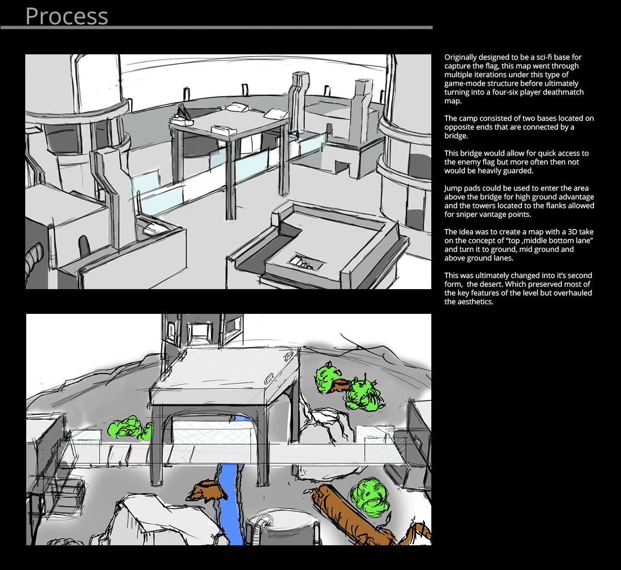 ArtStation - Snow Tundra - Unreal Tournament 4 Map, Jonathan