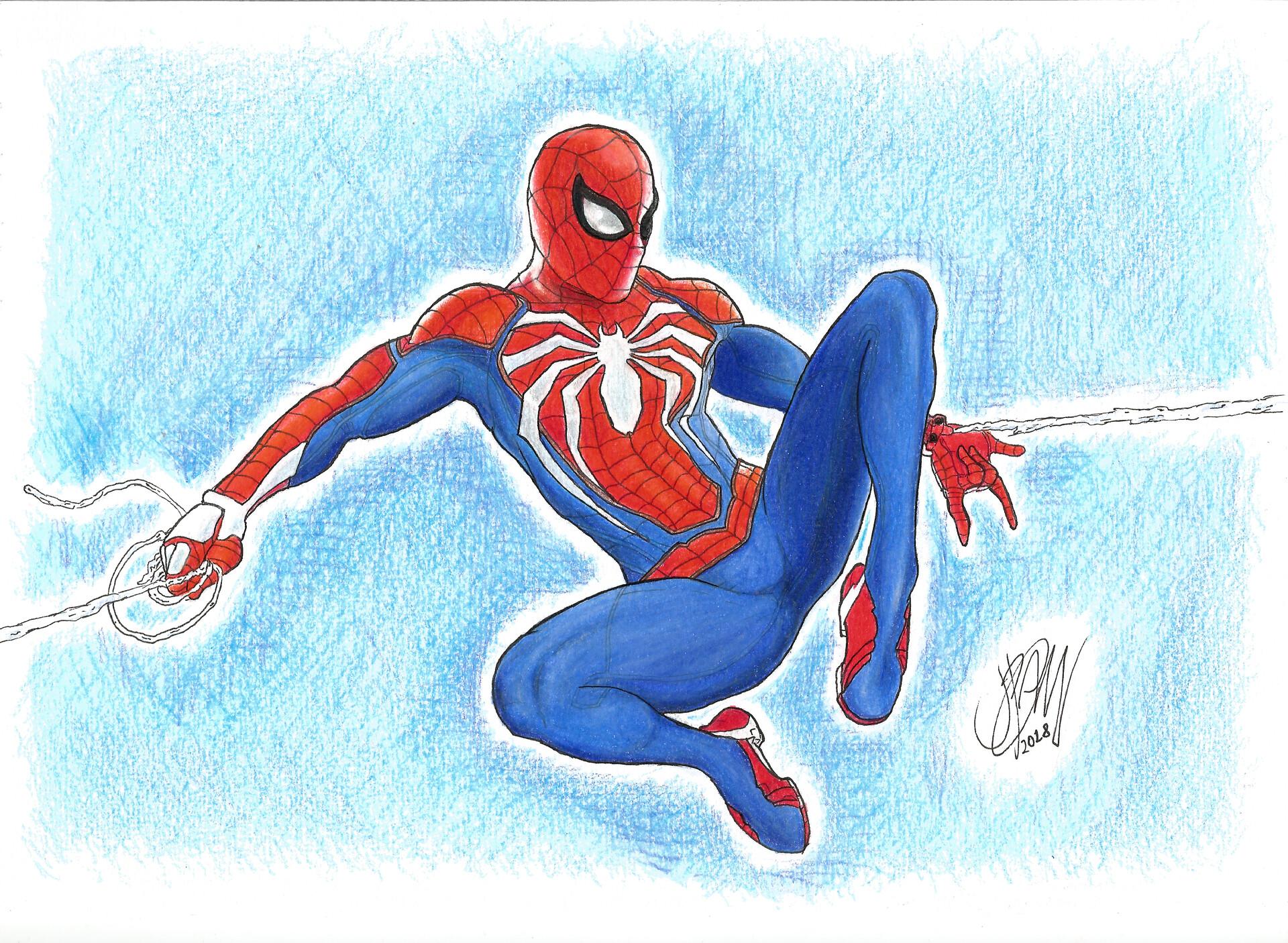 João Pedro Calheiros Miranda Dos Santos Marvels Spiderman