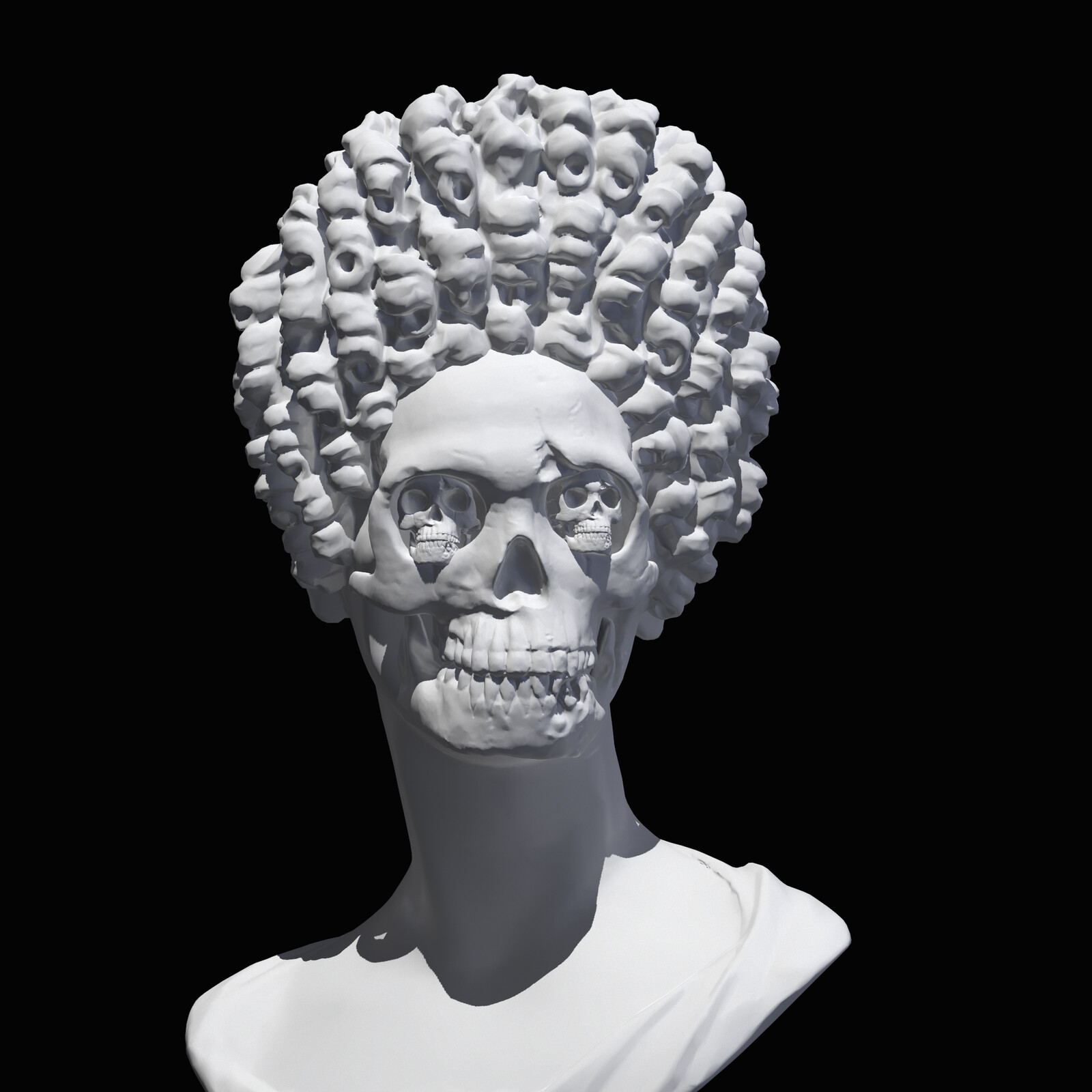 Fonseca bust revisited by myself