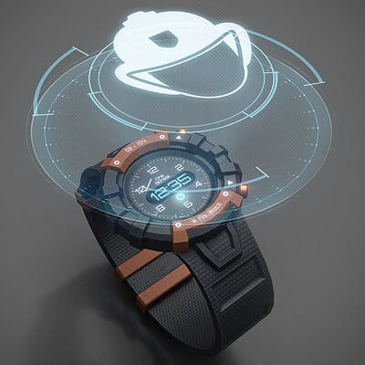 2019 - FireFighter holographic watch (VR)