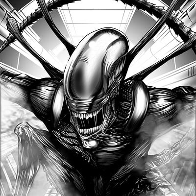 Christian woods alien re ink