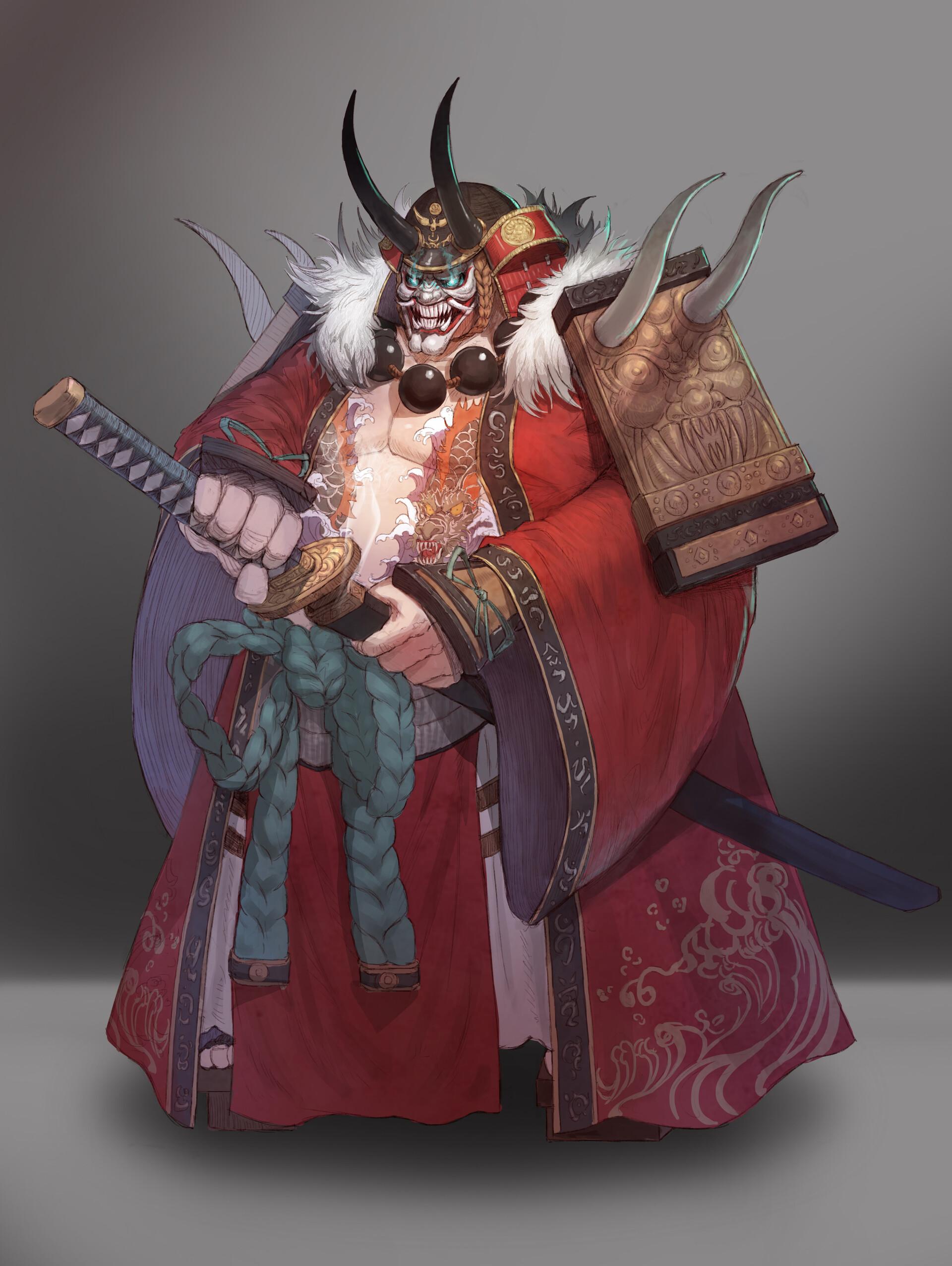 Daniel Kim Oni Samurai