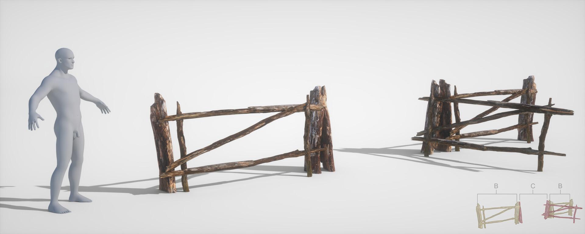 Jordi van hees fence open