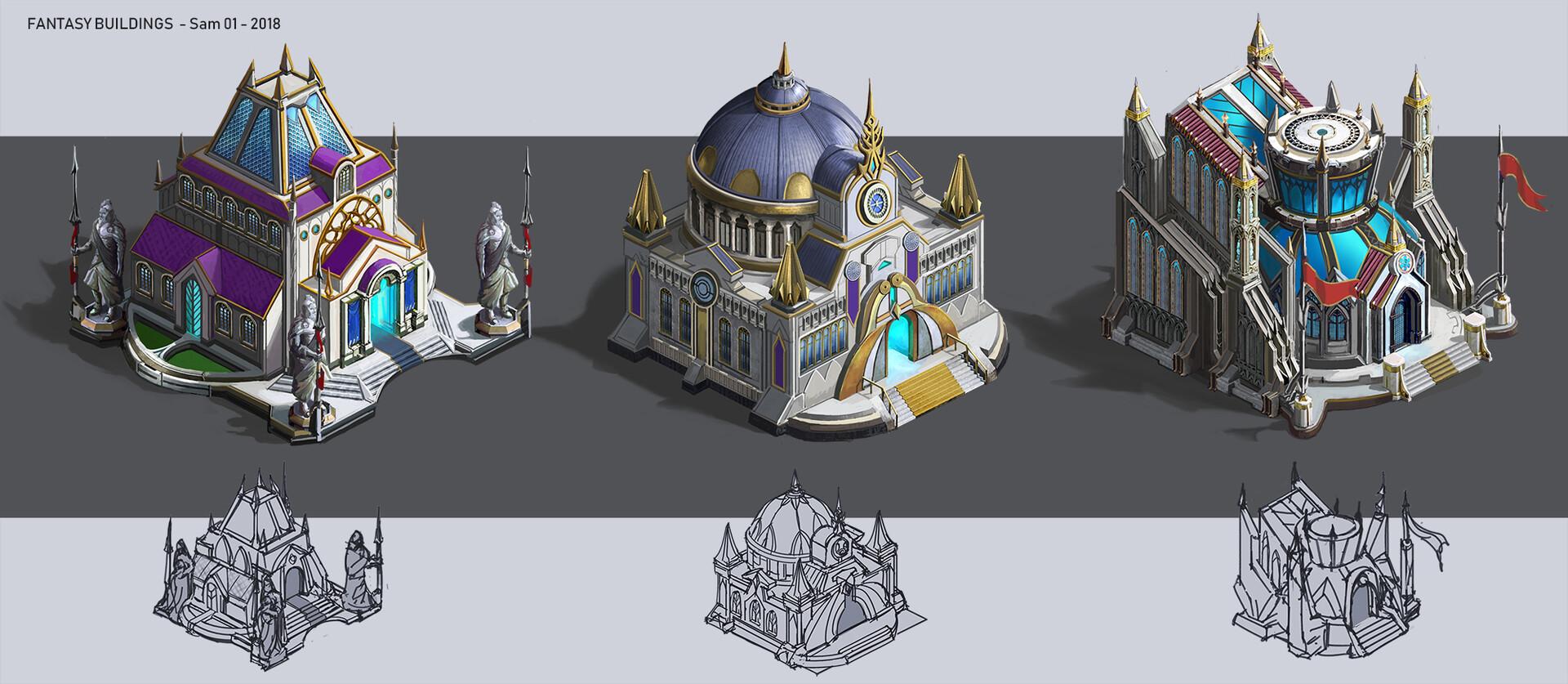 Fantasy Artillery Concept Art