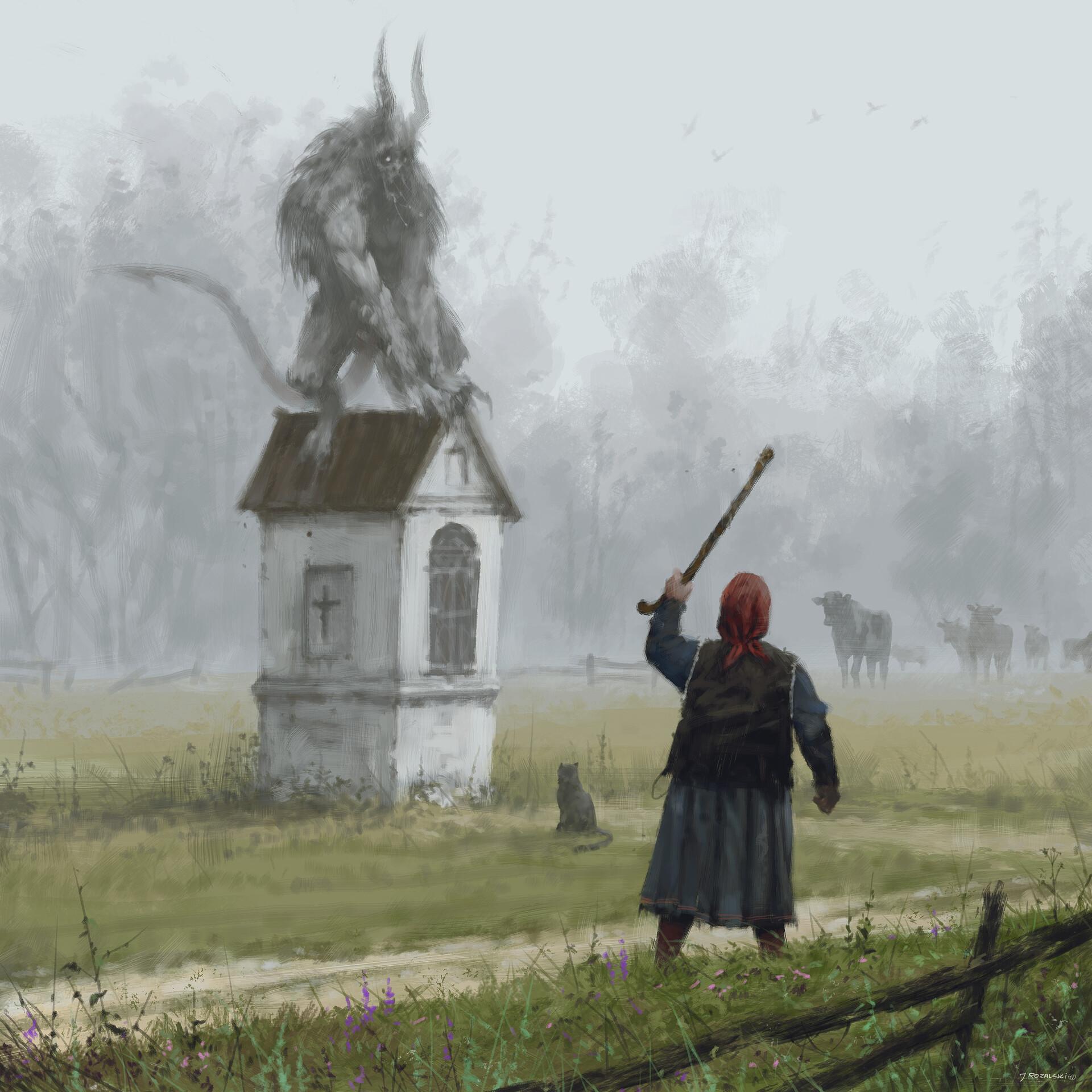 Jakub rozalski czort harklowski
