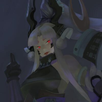 Dark ghost humanoid yysyaodaoji arena skin 19052019 10