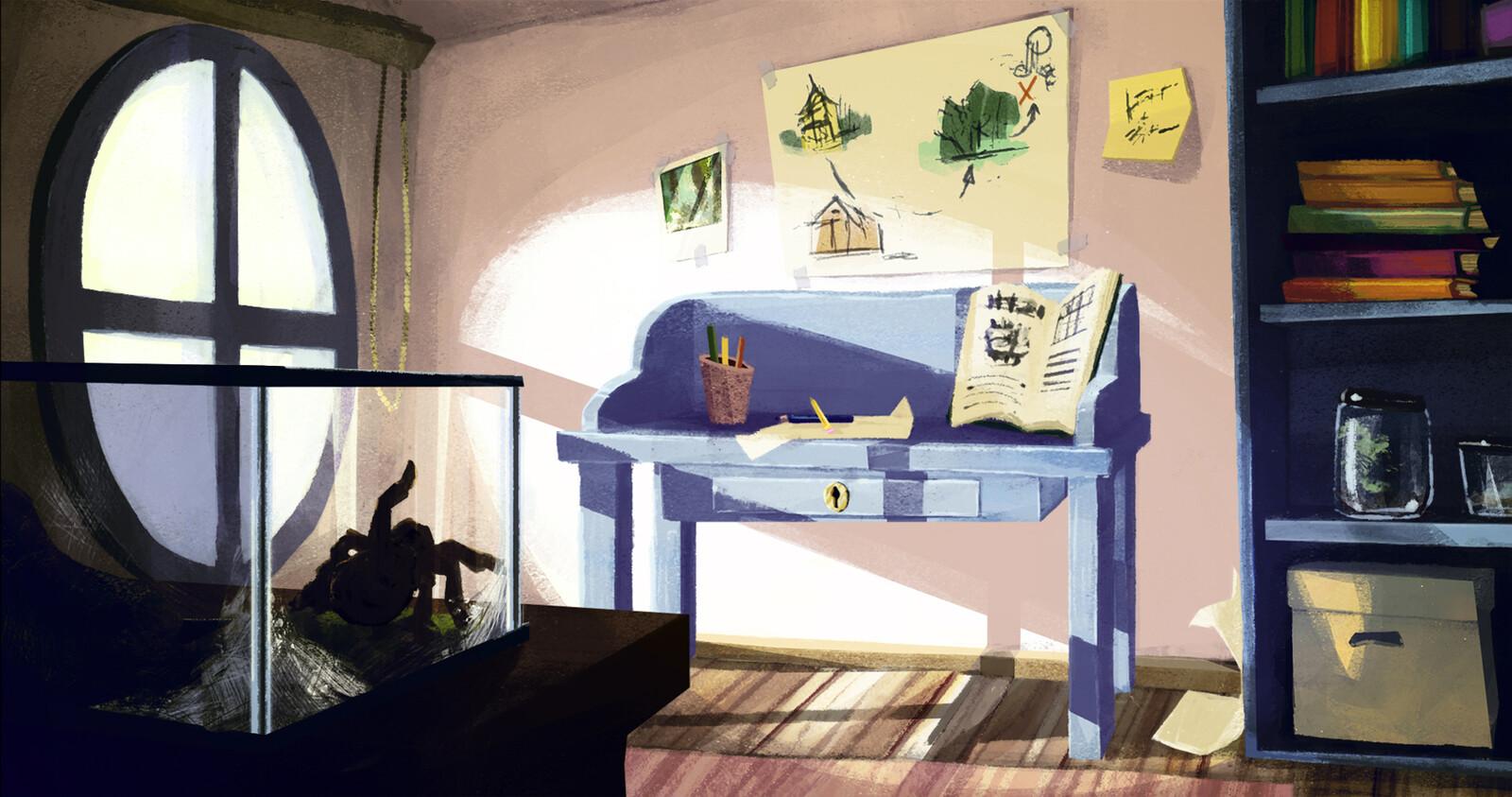 Little adventurer's room