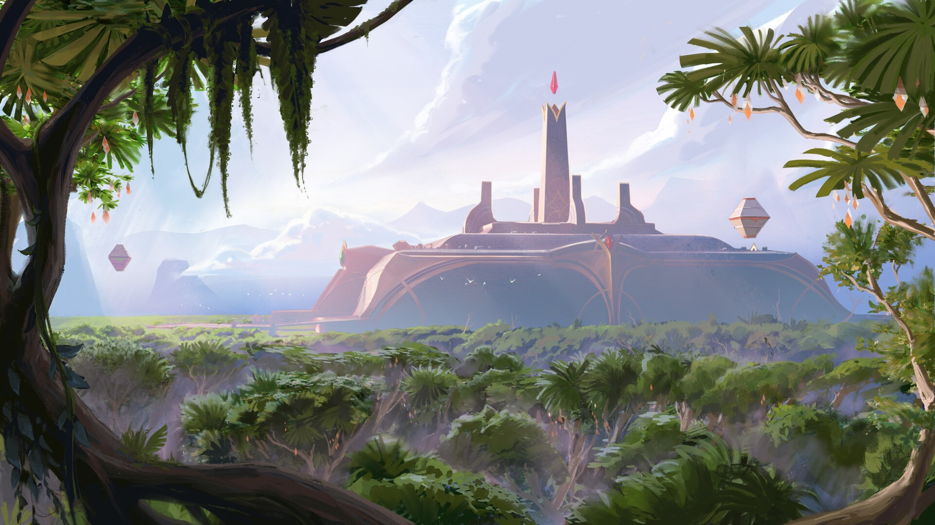 In truth, Ixtal is not the uninhabited wilderness many imagine. Far from prying eyes and greedy hands, the sprawling arcologies of Ixaocan remain safely hidden by the deepest rainforests. The cardinal arcology, seat of the ruling Yun Tal caste, has stood