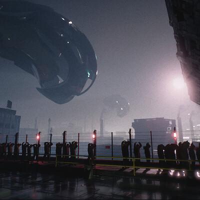 Victor kam alien shot 01
